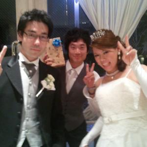 高校友人結婚式