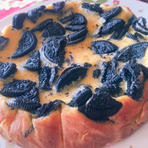 オレオのチーズケーキ☆