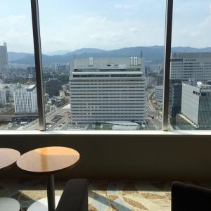 シェラトングランドホテル広島のクラブラウンジ☆