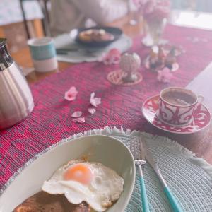 お休みの日の冷凍パンケーキな朝ごはんと久々沼サンド☆