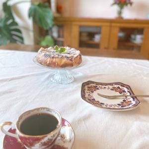 ブルーベリークランブルチーズケーキ☆詩作の日々