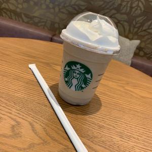 また、コーヒーフラペチーノ(^◇^;)