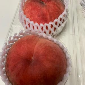福島産の桃②