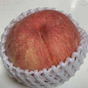 長野産の桃
