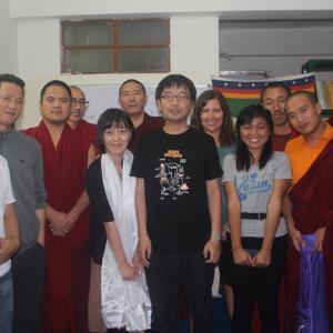 チベット難民の学校10周年