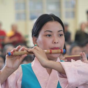 チベット民主主義デー2019のダンス