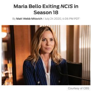 NCIS 悲しいニュース