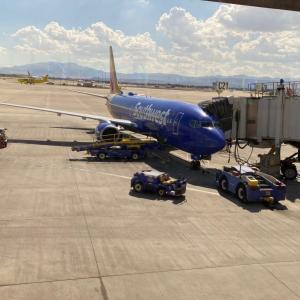 ラスベガス 帰りの空港。。。