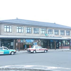 遠野駅とSL銀河