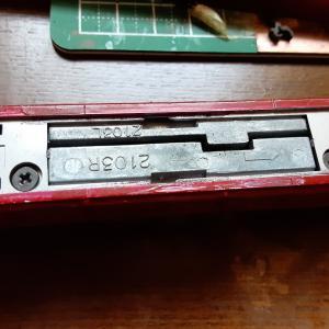 TOMIX EF81旧製品の動力OH