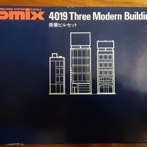 TOMIXの商業ビルキット