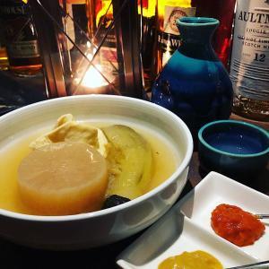 【日本酒★新発見】4種の出汁を使い分け!大人の隠れ家「洞窟おでん」(恵比寿)で日本酒ちびりちびり!