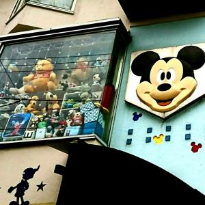 ミッキーマウスのお家