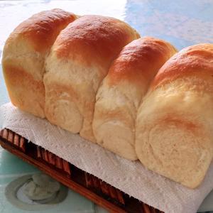 食パン焼けました