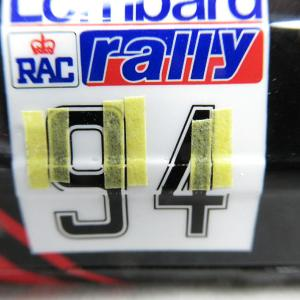 LANCER TURBO '84 RAC RALLY その22ヽ(`Д´)ノ