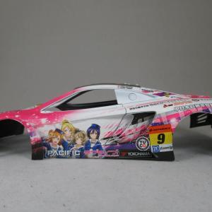毎週木曜は素組の日!『ラブライブ マクラーレン GT3」その6ヽ(`Д´)ノ