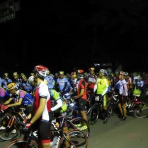 昨日も自転車の大会がありました。