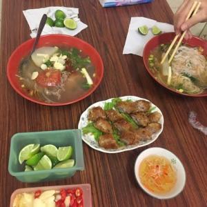 ベトナム料理を食べました。