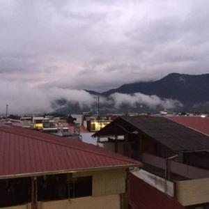 台風が北部を抜けました。