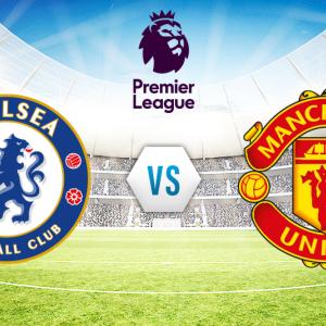 第11節 チェルシー vs. マンチェスター・U プレミアリーグ 2017-18  Chelsea vs. Manchester U Premier League