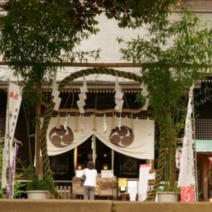 太子堂八幡神社(6月)