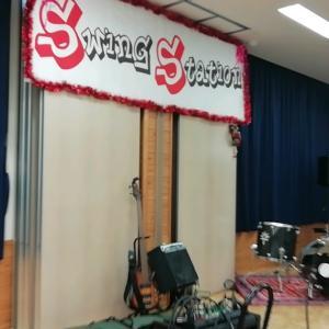 戸田コミュニティセンターでSwingSTATIONライブでしたっ。。