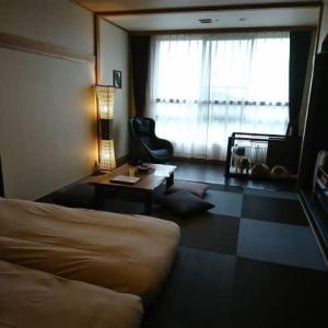 2019、秋の伊豆旅行、1日目のお泊り。