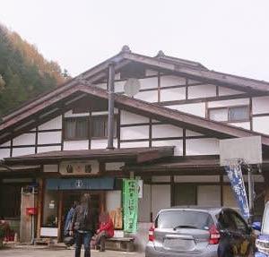 松茸入りとうじ蕎麦 ~松本市奈川~