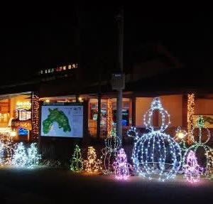 イルミネーション 白雪姫・七人の小人の森 ~あづみの公園 大町・松川地区~