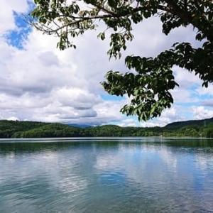 透明度が高く長野県で一番深い湖 青木湖 ~大町市~