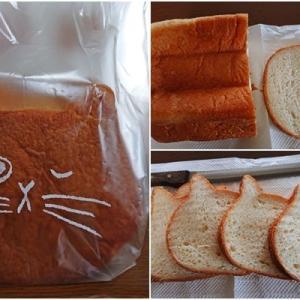 ミルク100%のねこねこ食パン 白猫♪