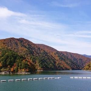 紅葉を眺めながら。。松茸入りとうじ蕎麦 ~松本市奈川~