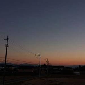 空の写真 夕焼け&朝焼け そしておまけの猫