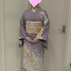 西東京市出張着付け=結婚式参列のお客様=
