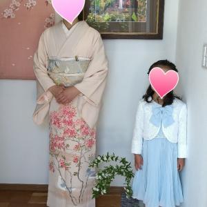 所沢市新所沢出張着付け=入学式のお母様=
