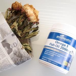 グッドヘルス オメガ3 フィッシュオイル 2000mg の口コミ!魚不足が気になったらサプリでDHA, EPAを摂取しましょう♪