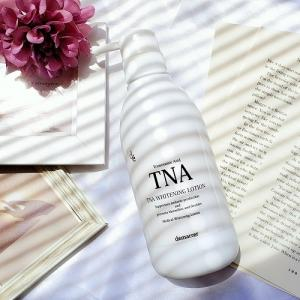 デマレ TNAホワイトニングローション (医薬部外品) の口コミ!シミ、くすみ、肝斑の気になる肌に♪美白効果が期待できる化粧水!