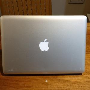 MacBookpro 帰ってきました。