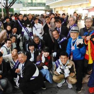 チーム渋谷888(はちみっつ) 本日の参加者は40 名 合計 922名になりました