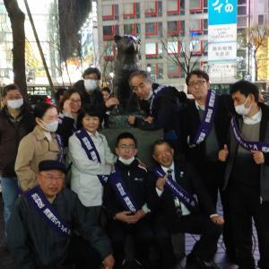 チーム渋谷888(はちみっつ) 本日の参加者は 13名 合計1130 名になりました