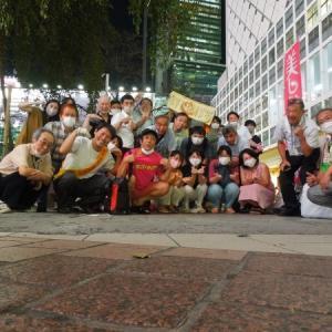 チーム渋谷888(はちみっつ) 本日の参加者は25 名 合計1317 名になりました