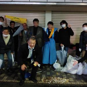 チーム渋谷888(はちみっつ) 本日の参加者は 11名 合計1353 名になりました