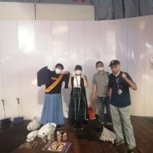 チーム渋谷888(はちみっつ) 本日の参加者は 4名 合計1516 名になりました
