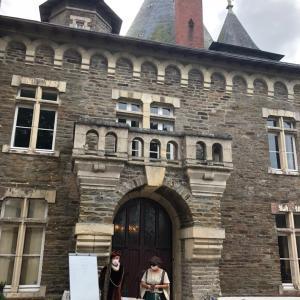年に1度のお城見学