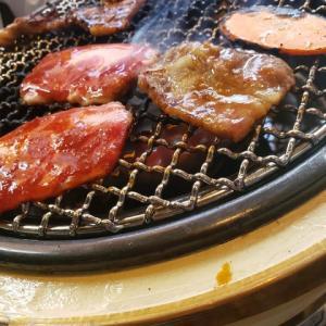 豪華焼肉ランチ(800円)を食べて元気百倍なのだ・・!!