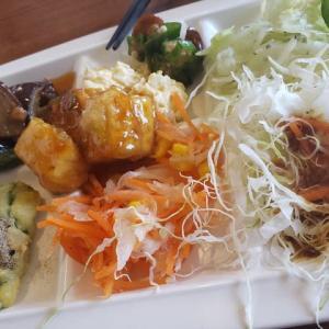 野菜食べ放題のデリタスバイキングに行きました