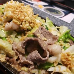 キャベツたっぷりの野菜炒め定食が美味しいのだ・・!!