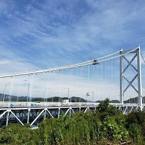 今日は老婆と愛媛県多田羅大橋までGoToドライブ・・