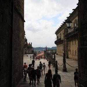 2019 スペインの旅! サンチャゴ・デ・コンポステラ その4:旧市街散策