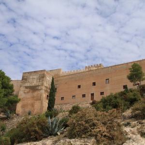 2018スペイン旅! ペトレール (Castillo de Petrer:ペトレール城)